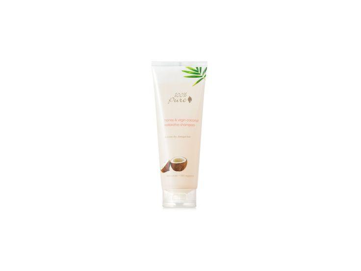 100% Pure šampon Med a kokos