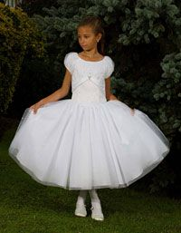 Flower Girl Dresses - Sweetie Pie Collection- Style 454 White Only