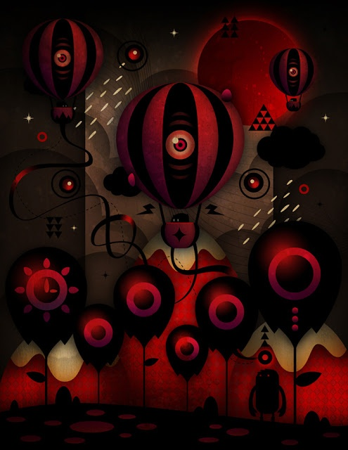 The mysterious universe of Niel Quisaba digital delight art