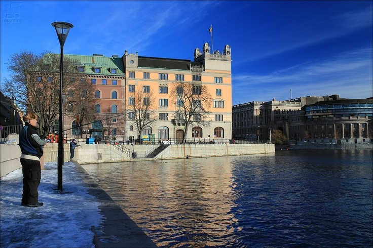 Rosenbad and Parlament - Stockolm - Sweden