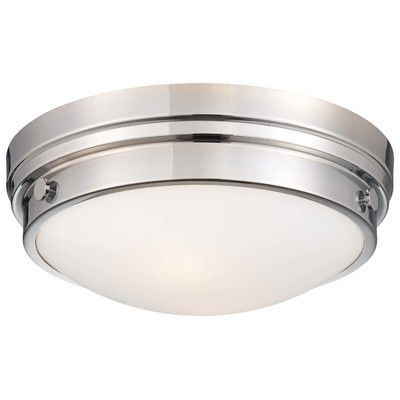FREE SHIPPING! Shop Wayfair.ca for Minka Lavery 2 Light Flush Mount - Great Deals on all  products with the best selection to choose from!