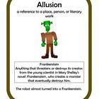 Figurative Language Center Activity featuring Allusion. Use for small groups or independent literacy station work during guided reading. Would also...