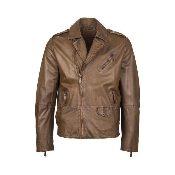 A leather jacket is a part of your life. #Trussardi l #DesignerOutletParndorf