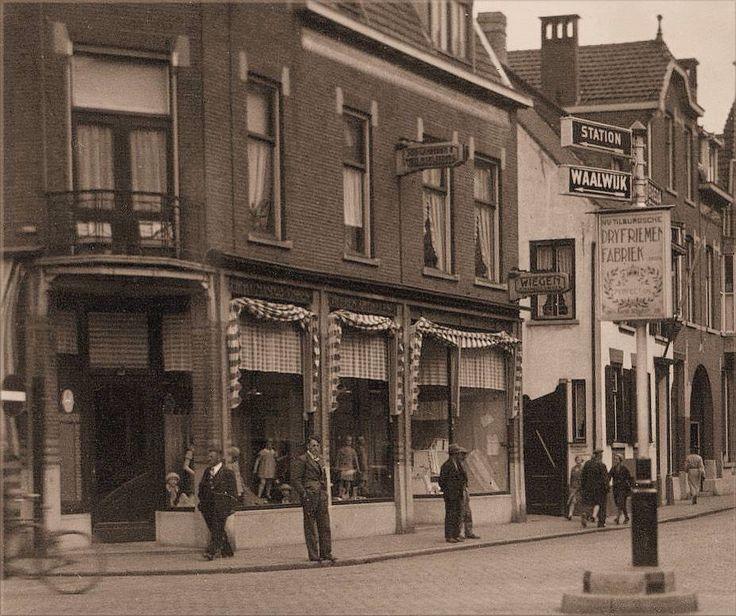 192 Hoek Nieuwlandstraat - Tuinstraat 1930