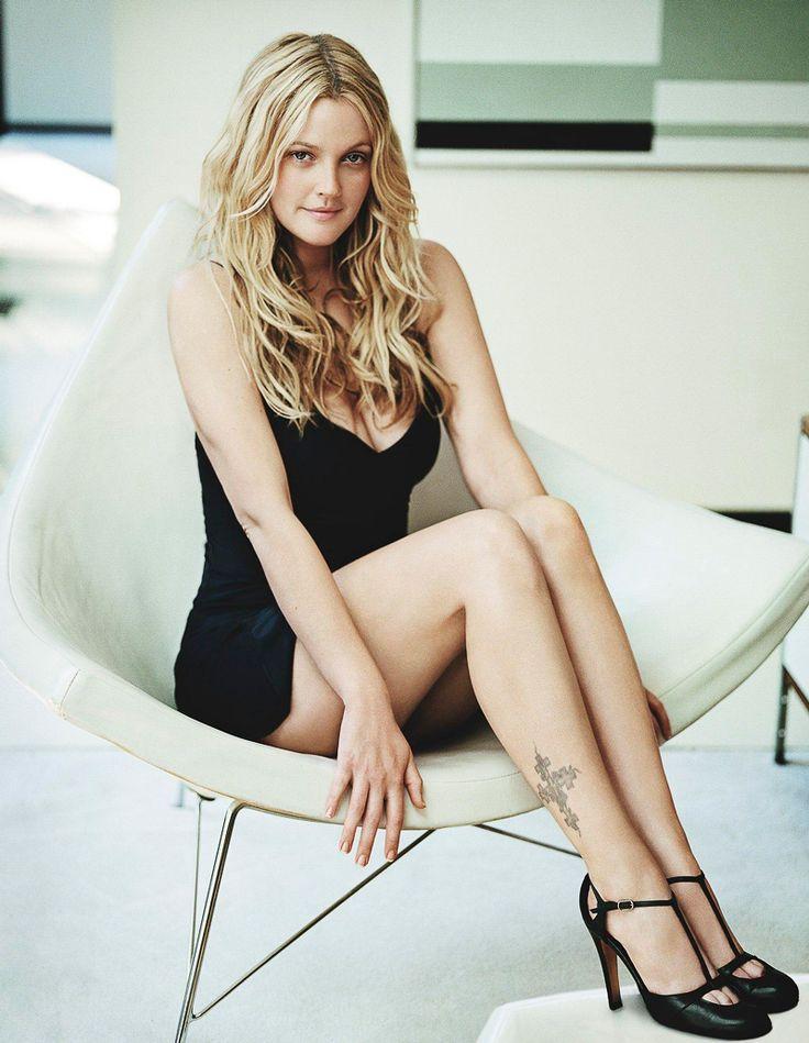 Drew Barrymore Sexy Celebrity Legs Picture | Zeman Celebrity Legs | 00001