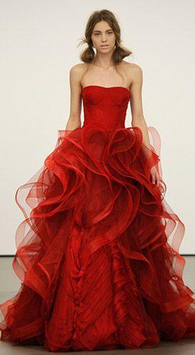 Vestito rosso matrimonio   Stile e bellezza