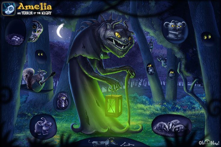 Amelia and Terror of the Night - interactive iPad Book - www.youtube.com/watch?v=ASeKyb_XSRI