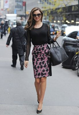 Avec amour: 7 τρόποι να φορέσεις την pencil φούστα