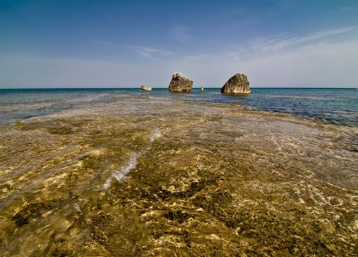 This strange #reef is at #Baia degli Ulivi (Olive trees Bay), #Cefalù. #Sicilian #Beaches are very variegated and different. For more information have a look at bebtrapanilveliero.it
