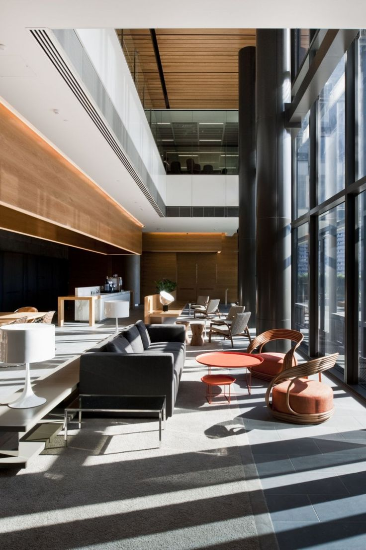modern office lounge. anz centre banking headquaters melbourne designed by hassel architects lobby loungehotel lobbyhotel loungemodern office modern lounge o
