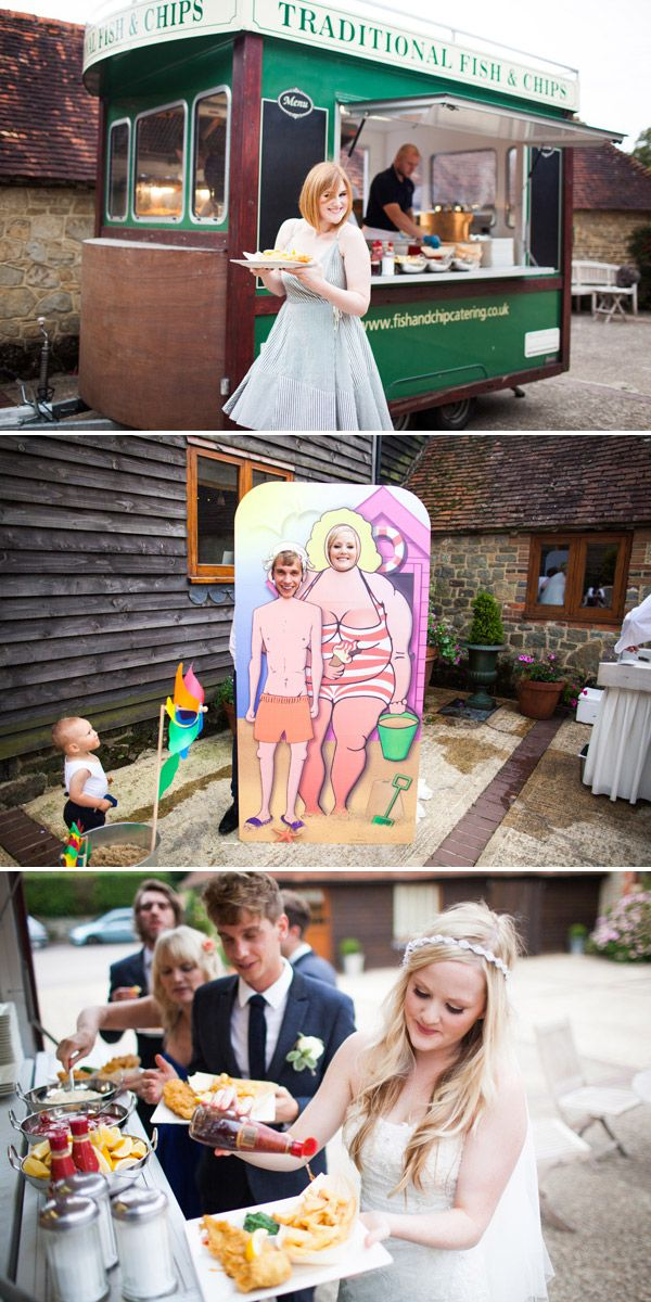 A Great British Seaside themed wedding in West Sussex by Navyblur | Rock My Wedding