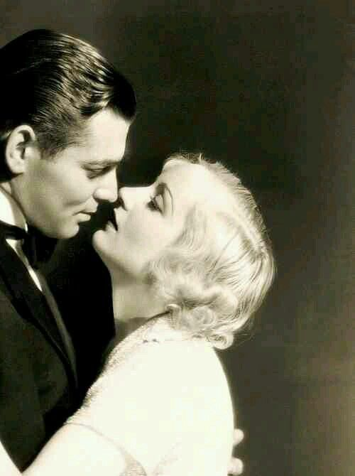 Clark Gable & Carole Lombard- such a beautifully romantic photo of a beautifully in love couple! I adore this picture! It captures something so lovely between one of the most glamorous Hollywood couples of all time!