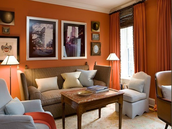 Best 25 Orange Study Curtains Ideas On Pinterest  Curtains Ready New Orange Curtains For Living Room Inspiration