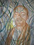 Helma van der Burgh - mensen en portretten spiritueel schilderij meer dan woorden Hans van der Ven