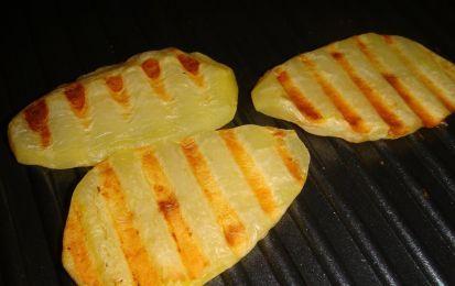 Patate dolci (americane) - Per una idea saporita in più con le patate dolci, da preparare per una grigliata in compagnia, al barbecue o sulla piastra elettrica.