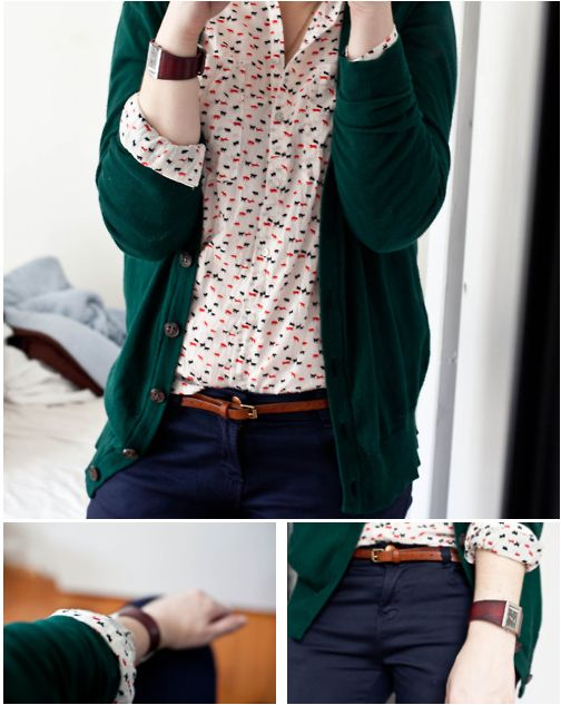 what-do-i-wear:  5. Submission Post // Wearing:  zara shirt, UO cardigan, zara core denim, j.crew belt Check out more of Rogni's style, and layering with simplistic basic's here: Rogni!