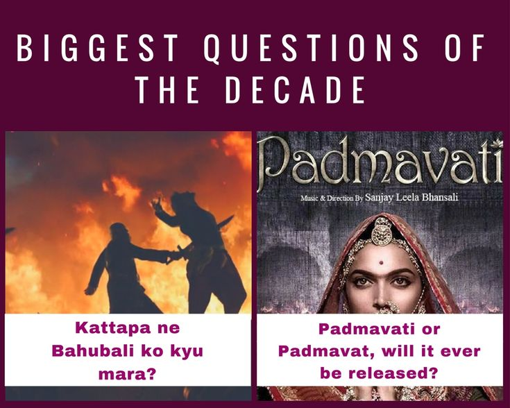 We surely got the answer for the first one, but for the release of Padmavati, will we ever get an answer?  #padmavati #bahubali #movies #jaipurbeat