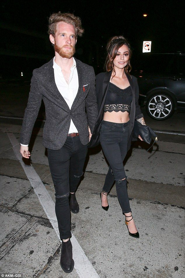 She loves her LA life: Former X Factor star Cher Lloyd and her husband Craig Monk were pictured going on a date night at Craig's restaurant in West Hollywood on Saturday night