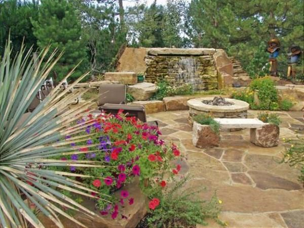 Landscaping Ideas Between Houses | Beautiful Southwest Landscape Design Ideas