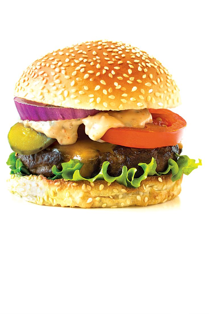 Epic Big Burger  Make with Burger seasoning and serve with Big Burger Sauce.