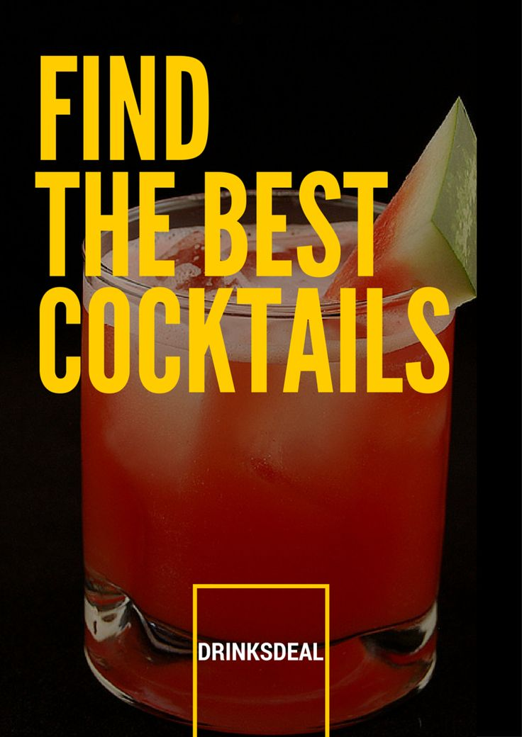 Looking for the cheapest cocktails in your city checkout Drinksdeal now!