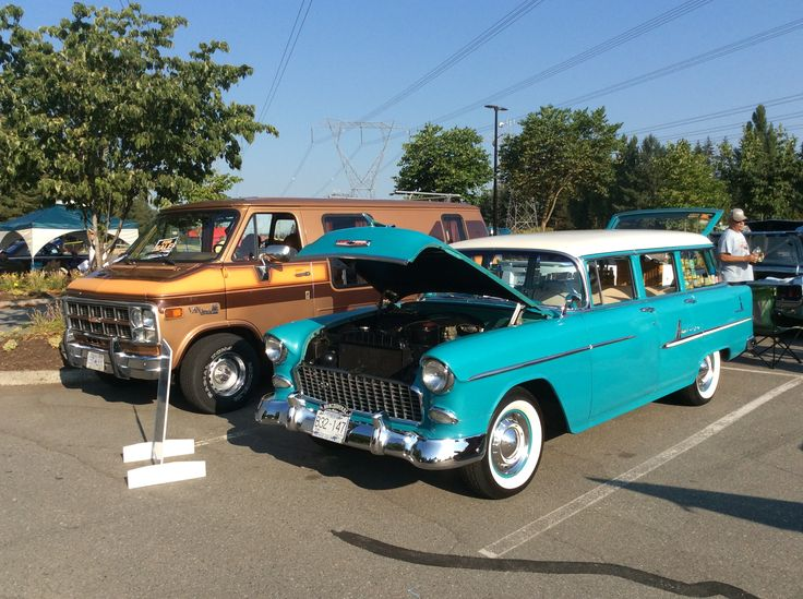 At the Falcon-Fairlaine-Comet Club's show in Langley BC