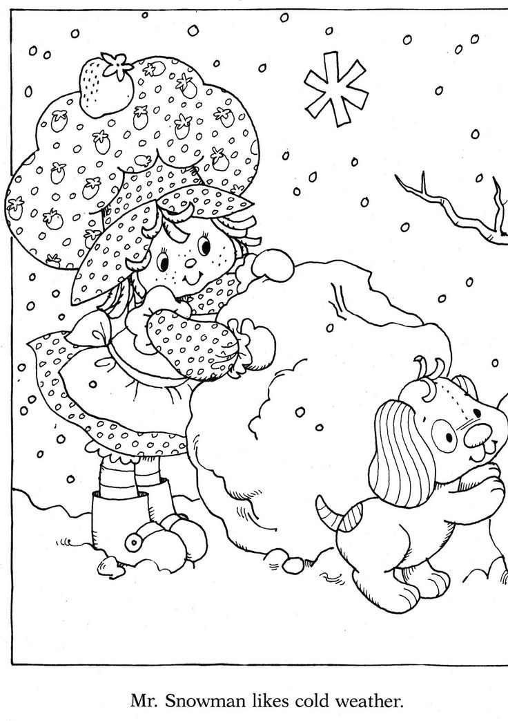 myrtille coloring pages - photo#13