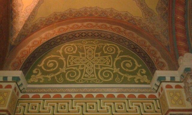 Szegedi dóm falfestmény