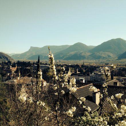 Ein Frühlingsspaziergang durch Meran...erfrischende Ausblicke, wunderschöne Farben #Südtirol #Meran www.suedtirol.voyage
