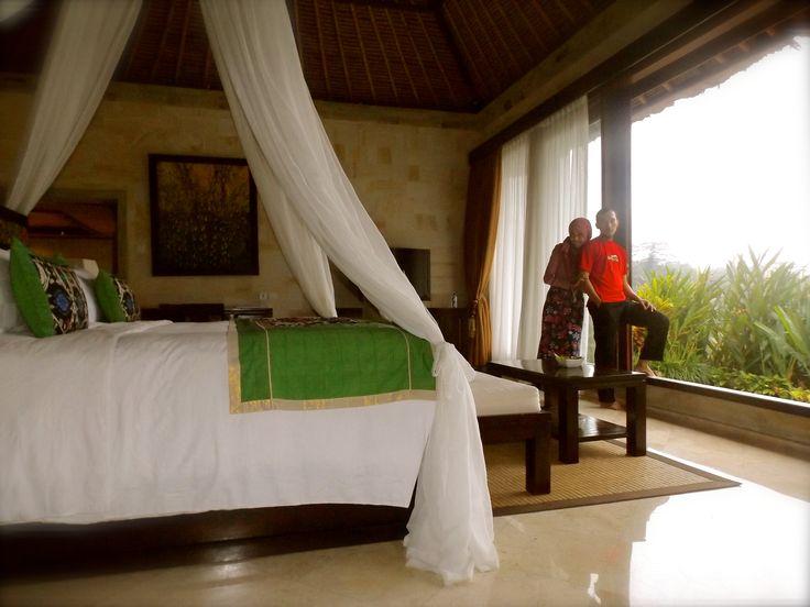 me and my hubby on our room at The Royal Pita Maha Resort, Bali. #ALIKA