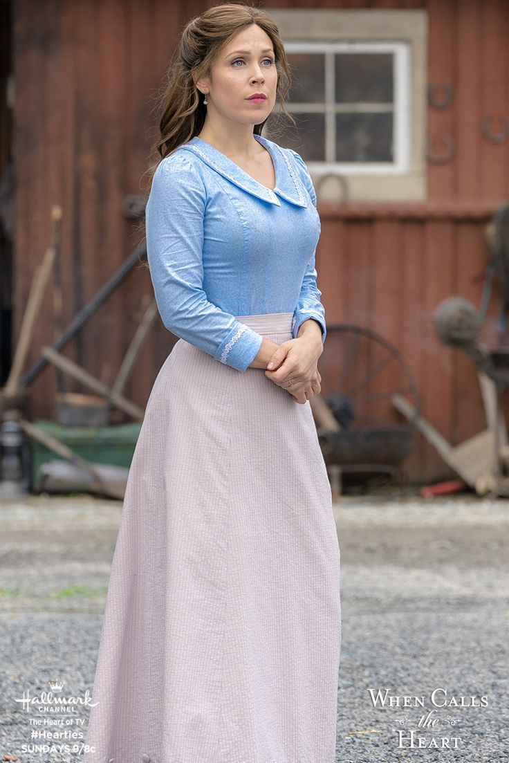 What is Elizabeth (Erin Krakow) thinking? Find out on Sunday night 9/8c on Hallmark Channel.  #Hearties #HallmarkChannel #WCTH