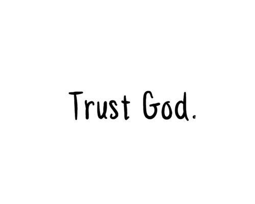 Trust God, AMEN!!!!