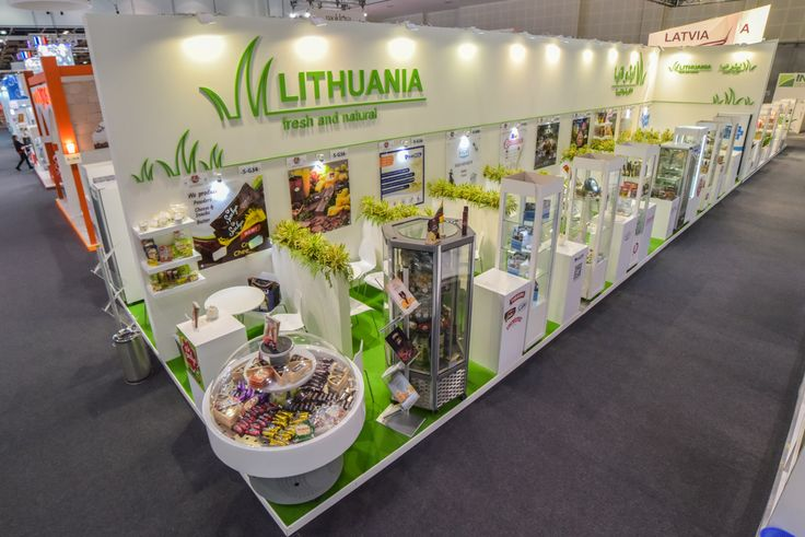 #Lithuania #Exhibition #Stand @ #Gulfood #Dubai #UAE #MiddleEast designed & built by #GLeventsMiddleEast