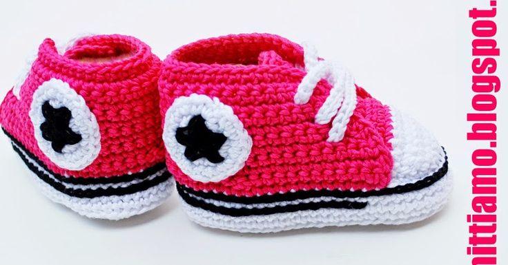 converse uncinetto neonato