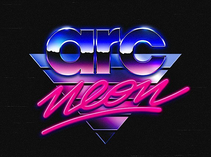 80's Logo Collection via Abduzeedo Featuring the work of Italian designers Alessandro Strickner (www.behance.net/strickner) & Overglow (www.behance.net/overglow)