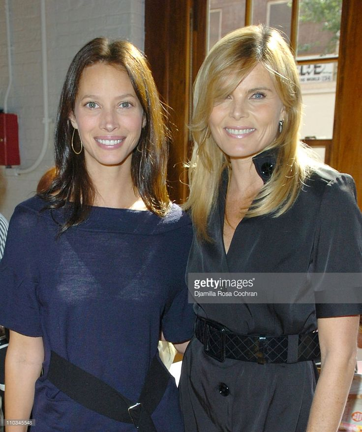 Christy Turlington Burns and Mariel Hemingway attend The Ladies Who Launch Live! Networking Event at the Altman Building on October 17th, 2007 in New York City, New York.
