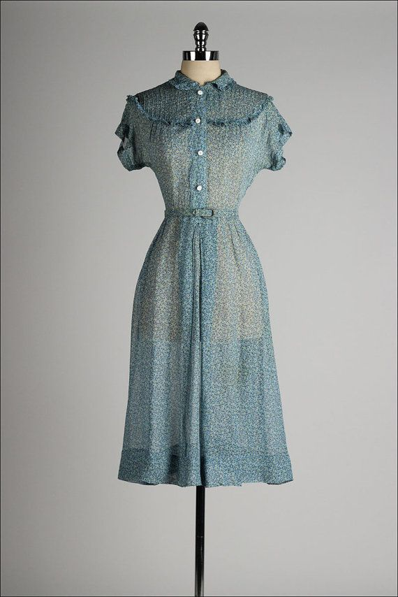 1000 Images About 1940s Sheer Dresses On Pinterest Day Dresses 1940s And Swiss Dot