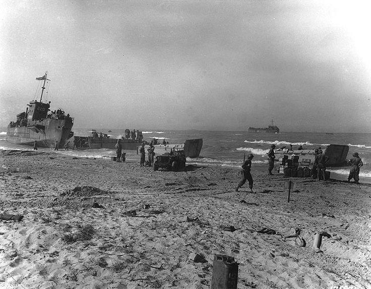 Normandy Invasion German Ships