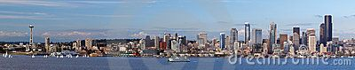Seattle Skyline Panorama - Download From Over 50 Million High Quality Stock Photos, Images, Vectors. Sign up for FREE today. Image: 18774156