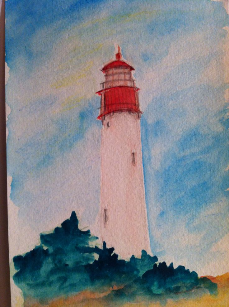 158 Best Images About Lighthouse Art Illustrations