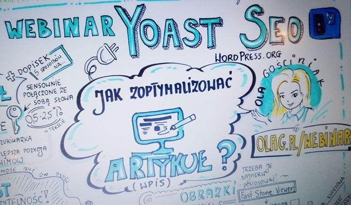 Właśnie otrzymałam notatkę wizualną z wczorajszego webinaru i jest cudowna! Już za chwilę leci do Was na maila powtórka webinaru oraz właśnie ta notatka :)  Dla spóźnialskich: jeszcze można się załapać na ten komplet: www.olag.pl/webinar <3