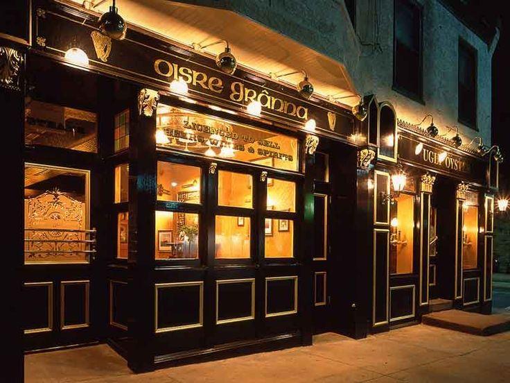 Old Irish Coffee House Decor