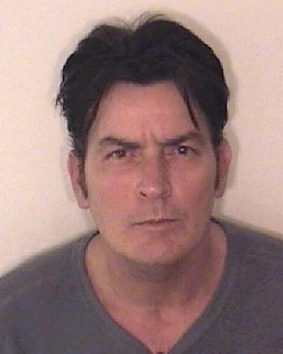 Charlie Sheen was arrested three different times for charges ranging from drug use to assault on his wife.