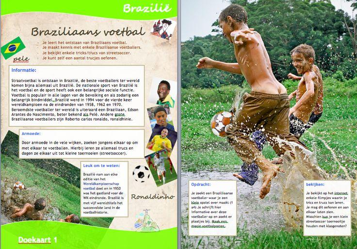 Projecten voor basisscholen M.I. Brazilië Doekaart 1 daanebbers.yurls.net