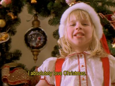 Me too Eloise. Me too. It's Jesus's birthday and when family gets together and happy memories are shared!