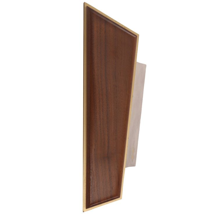 Anodized Aluminum Brass and Walnut Door Handle | From a unique collection of antique and modern doors and gates at https://www.1stdibs.com/furniture/building-garden/doors-gates/