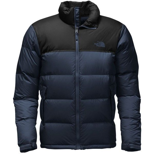 The North Face Men's Nuptse Fill-Down Jacket (£175) ❤ liked on Polyvore featuring men's fashion, men's clothing, men's outerwear, men's jackets, mens sports jacket, mens down filled jackets, mens goose down jacket and mens down jacket
