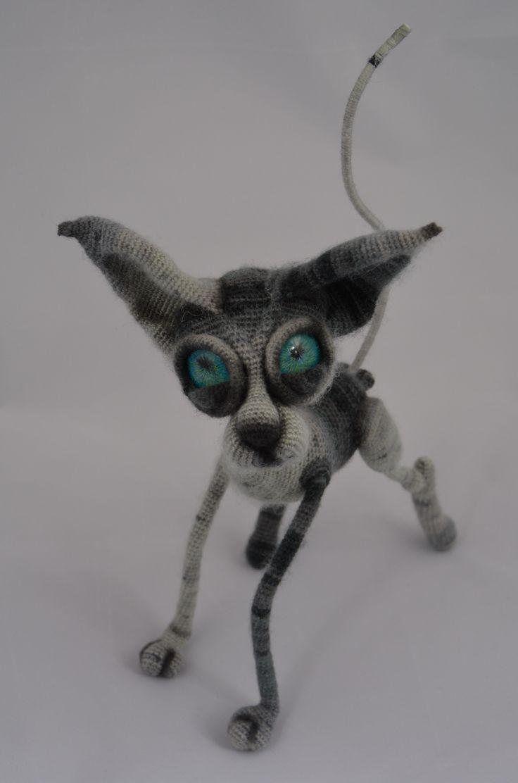 Crochet amigurumi cat LittleOwlsHut