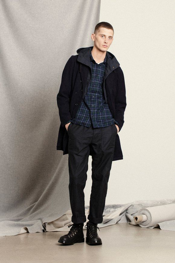 Norse Store Men's Winter Editorial featuring Ts(S) Engineered Garments and MHL