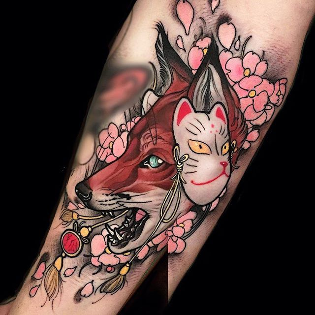 Kitsune Tattoo Meaning Abycamp
